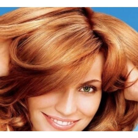 Краска для волос Ярко-рыжий насыщенный цвет. 150 гр.