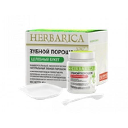 Зубной порошок HERBARICA «Целебный букет», 50 гр