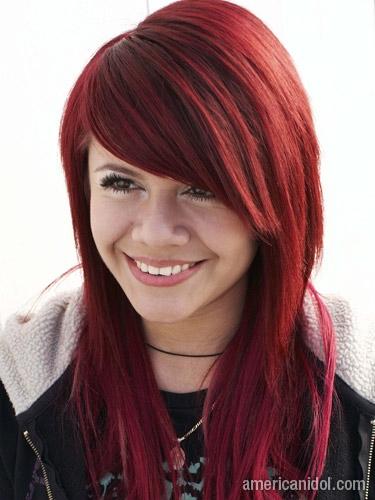 Волосы цвет красное дерево фото
